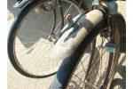 汚れた自転車