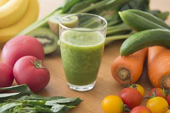 野菜とドリンク