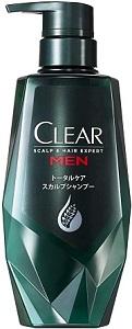 CLEAR for men トータルケア シャンプー ポンプの画像